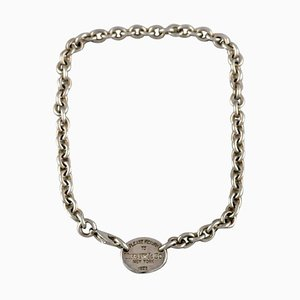 Tiffany & Co. New York Halskette mit Anhänger aus Sterlingsilber, 1960er Jahre