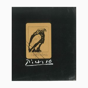 Pablo Picasso - Picasso. 31 Cancelled Original Kupfer Teller - 1971