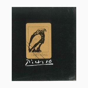 Pablo Picasso - Picasso. 31 plaques de cuivre originales annulées - 1971