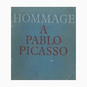 Pablo Picasso - Homenaje a Pablo Picasso - Catálogo original - 1966