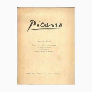 Pablo Picasso - Obras del Museo Picasso - Catálogo Vintage - 1953