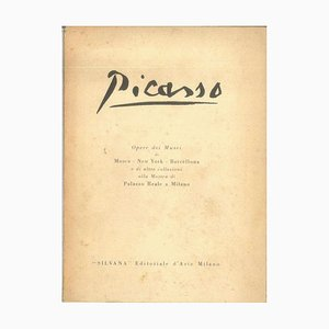 Pablo Picasso - Œuvres du Musée Picasso - Catalogue Vintage - 1953