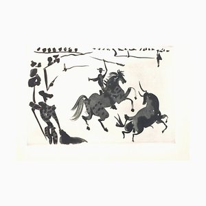 Pablo Picasso - la corrida - Suite d'aquatintes originales - 1959