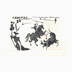 Pablo Picasso - the Bullfight - Suite d'Aquatintes Originales - 1959