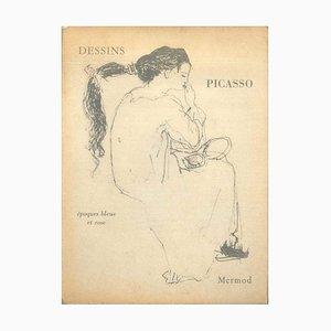 Pablo Picasso - Dessins Pablo Picasso - Original Drawings - 1960