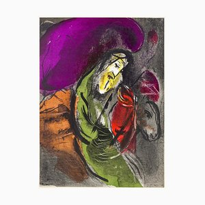 Marc Chagall - Jeremías ilustraciones para la Biblia - Litografía original - 1956
