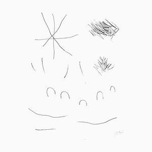 Joan Miró - Journal d'un écrivain - Vol. Planche 2 10 - Gravure originale - 1975