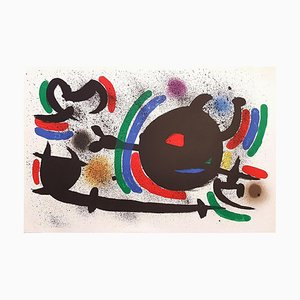 Joan Miró - Miró Lithographe I - Teller X - Original Lithographie - 1972