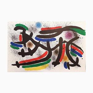 Joan Miró - Miró Lithographe I - Plate IX - Original Lithograph - 1972