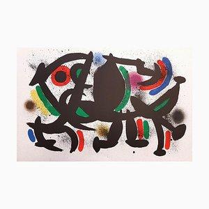 Joan Miró - Miró Lithographe I - Plancha VIII - Litografía original - 1972