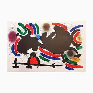 Joan Miró - Miró Lithographe I - Plate IV - Original Lithograph - 1972