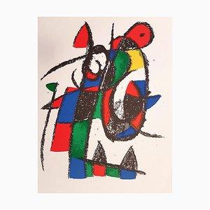 Litografia originale - 1975 - Joan Miró - Miró Lithographe II - Plate II