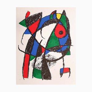 Joan Miró - Miró Lithographe II - Plancha I - Litografía original - 1975