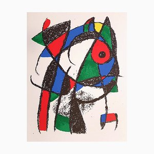 Joan Miró - Miró Lithographe II - Teller I - Original Lithographie - 1975