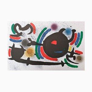 Joan Miró - Miró Lithographe I - Plancha X - Litografía original - 1972