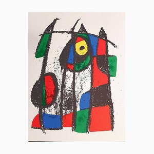 Joan Miró - Miró Lithographe II - Plate VII - Original Lithograph - 1975