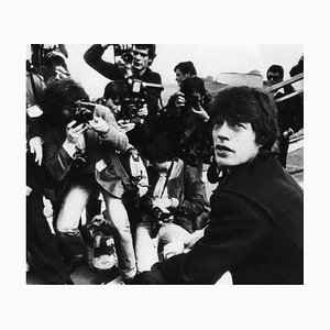 Unknown - Mick Jagger Tour - Vintage Fotografie - 1960er