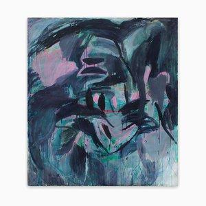 Aussi longtemps que nous nous souvenons, peinture d'expressionnisme abstrait, 2020