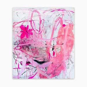 Wenn das Schicksal müde wird vom Warten, Abstraktes Expressionismus Gemälde, 2020