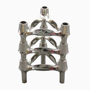 Modulare Kerzenhalter von Ceasar Stoffi und Fritz Nagel für BMF, 1960er Jahre, 3er-Set