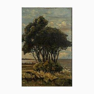 H. Ribas, Scuola, intorno a Royan, 1900, olio su tavola