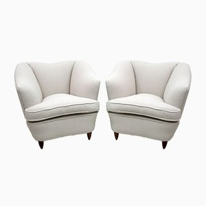 Bouclè Armchairs by Gio Ponti for Casa e Giardino, 1936, Set of 2