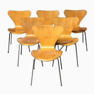 Dining Chairs from Fritz Hansen, 1983, Set of 6