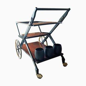 Chariot dans le style d'Osvaldo Borsani pour Tecno, 1960