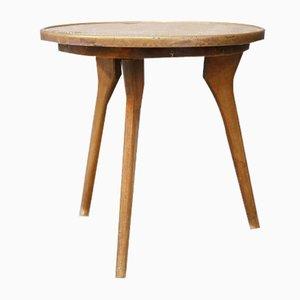 Table Basse, Italie, Cuivre et Bois, 1950s