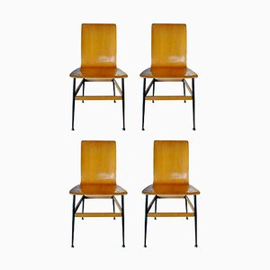 Dining Chairs by Rinaldo Scaioli and Eugenia Alberti Reggio, 1960s, Set Of 4