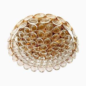 Jewel Jewel & Crystal Flush Light de Palwa, 1960s
