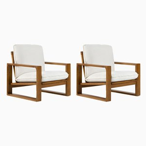 Lounge Chairs by Miroslav Navratil, 1970s, Set of 2