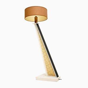 Vintage Plexiglass Moss Floor Lamp, 1954