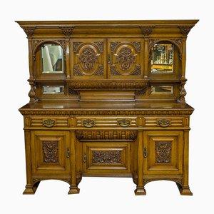 Antikes Sideboard von J. Cambell & Co Cabinet Makers Glasgow, Schottland