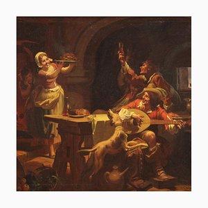 Mattia Traverso, Italian Interior Scene Painting