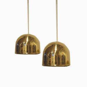 Lámparas de suspensión T-075 de Eje Ahlgrens para Bergboms, años 60.Juego de 2