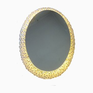 Oval Mirror by Emil Stejnar for Rupert Nikoll, 1960s