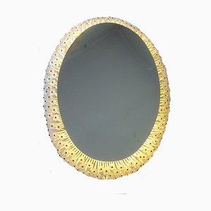 Ovaler Spiegel von Emil Stejnar für Rupert Nikoll, 1960er Jahre