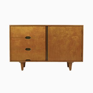 Vintage Beech & Maple Wood Sideboard by Vesper for Heals, 1950s