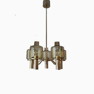 Lámpara de araña Lustre Prior T507 de Hans-Agne Jakobsson para Hans-Agne Jakobsson AB Markaryd, 1963