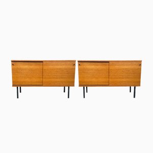 Teak Sideboards by Günter Renkel for Rego, Germany, 1960s, Set of 2