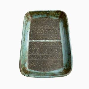 Troika Abstract Design Ceramic Dish. 1960s.