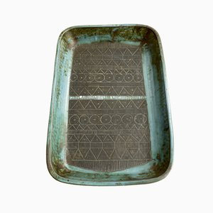 Troika Abstract Design Keramik Teller. 1960er Jahre