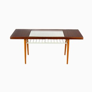 Glass Top Coffee Table from Jitona, 1960s