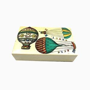 Balloons Cigar Box by Piero Fornasetti for Atelier Fornasetti, Italy, 1950s