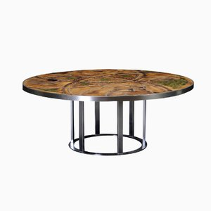 Table Basse Circulaire par Lilly Just Lichtenberg