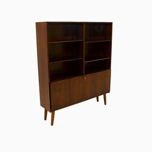 Rosewood Wall Unit by Omann Jun for Møbelfabrik, Denmark, 1960s
