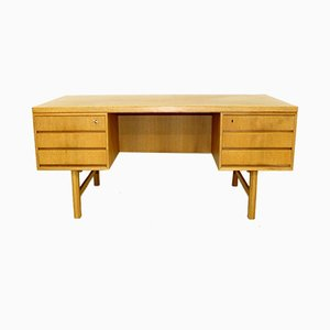 Swedish Oak Desk, 1960s