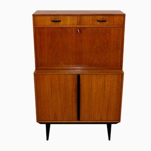 Teak Secretaire from Bräntorp, Sweden, 1950s