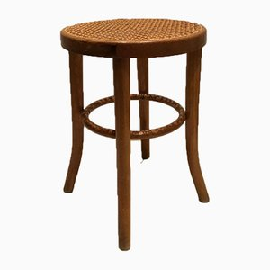 Vintage Wooden Stool by Michael Thonet for Gebrüder Thonet Vienna GmbH